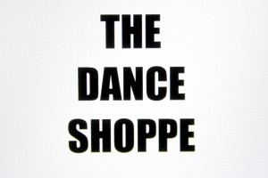 The Dance Shoppe AZ Retina Logo